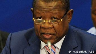Lambert Mende Omalanga, ancien porte parole du gouvernement congolais