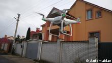 Aktion: Gegen Korruption mit Drohne