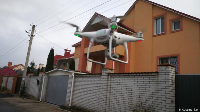 Дрон, яким Автомайдан знімає в рамках проекту PROSUD