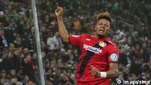 DFB Pokal Borussia Mönchengladbach - Bayer 04 Leverkusen | Leon Bailey