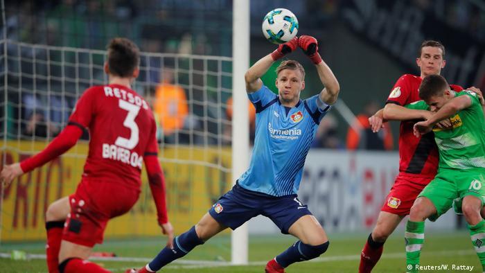 DFB Pokal Borussia Mönchengladbach - Bayer 04 Leverkusen (Reuters/W. Rattay )