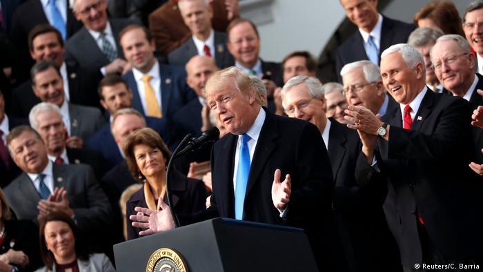 USA - Kongress verabschiedet Trumps Steuerreform (Reuters/C. Barria)