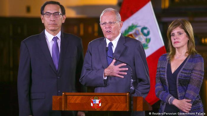 Peru Präsident Pedro Pablo Kuczynski hält Rede an die Nation (Reuters/Peruvian Government Palace)
