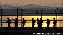 Südkorea Grenzanlage zu Nordkorea
