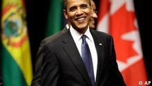 Barack Obama Gipfel der amerikanischen Staaten in Trinidad
