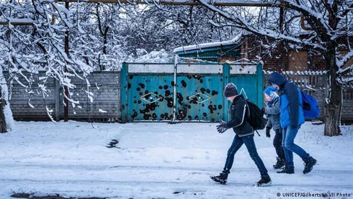 Дети в Донбассе