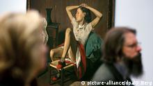 Maler Balthus Therese Dreaming Gemälde Balthasar Klossowski