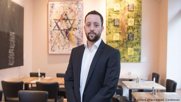 Berlin restaurant owner Yorai Feinberg was subjected to an anti-Semitic rant (picture-alliance/dpa/J. Carstensen)