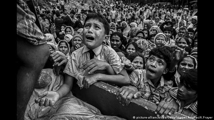 Rohingya demand justice as United Nations  delegation visits Bangladesh camps
