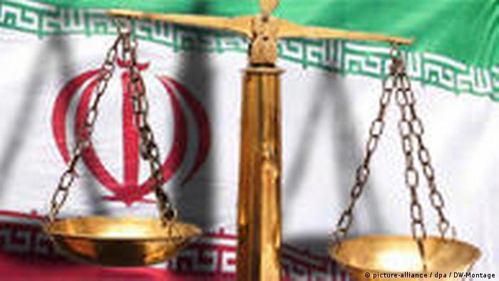 Symbolbild Justiz im Iran