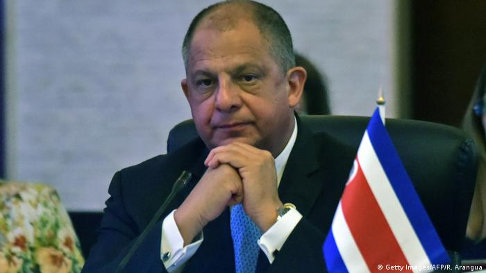 Luis Guillermo Solis President of Costa Rica