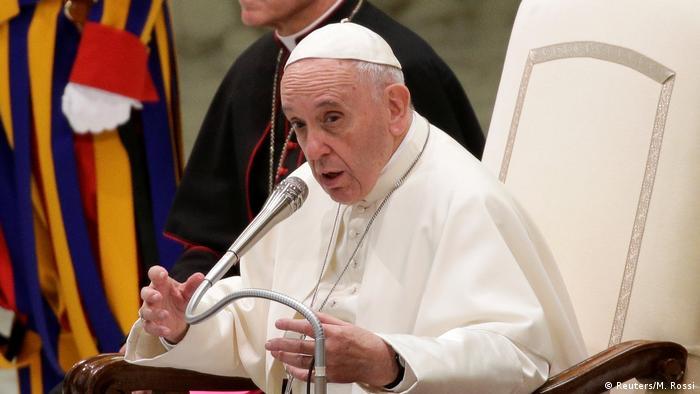 Vatikan Papst hält Weihnachtsansprache