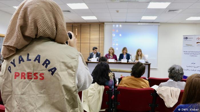 Jordanien Konferenz Media and Information Literacy in Amman