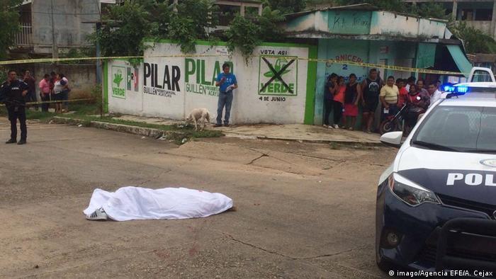Mexiko Edwin Rivera Paz Journalist ermordet (imago/Agencia EFE/A. Cejax)