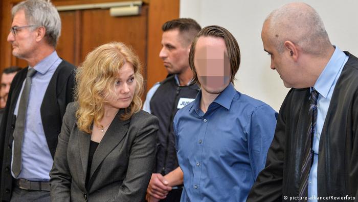 Обвиняемый в нападении на Боруссию Сергей В. в суде