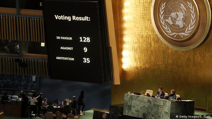 BM'nin Kudüs kararına dünya nasıl tepki verdi?