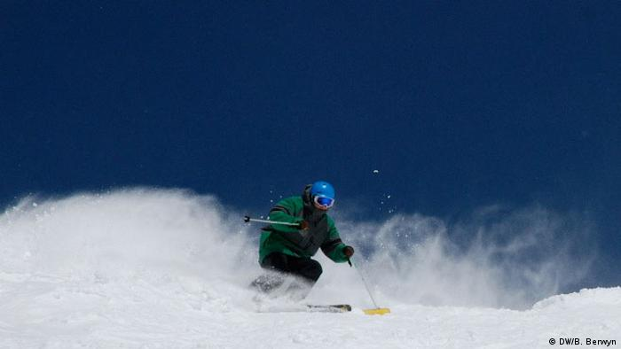 Klima - Skifahren in den Rocky Mountains (DW/B. Berwyn)