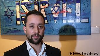 Berlin - israelische Restaurant - Besitzer Yorai Feinberg