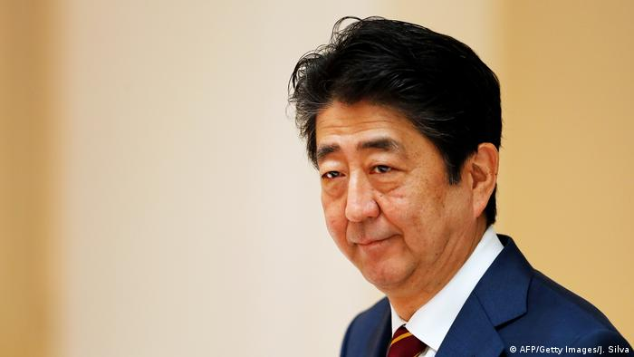 Japanese Prime Minister Shinzo Abe (AFP/Getty Images/J. Silva)