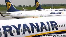 Ryanair-Maschinen (picture alliance/dpa/A. Rain)