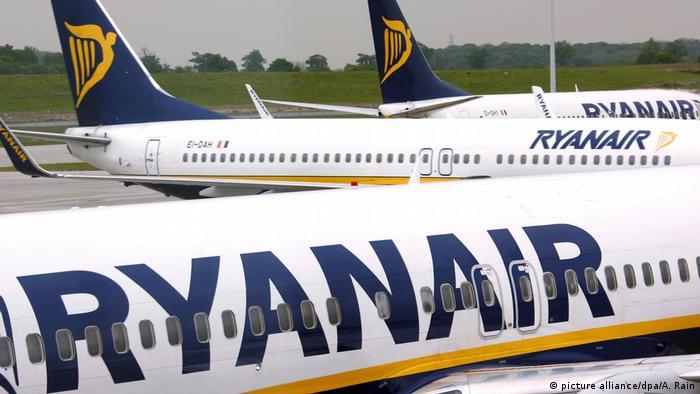 Ryanair-Maschinen (picture alliance/dpa/A. Rain)