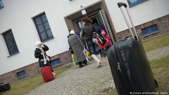 Unterkunft für Geflüchtete in Frankfurt/Oder