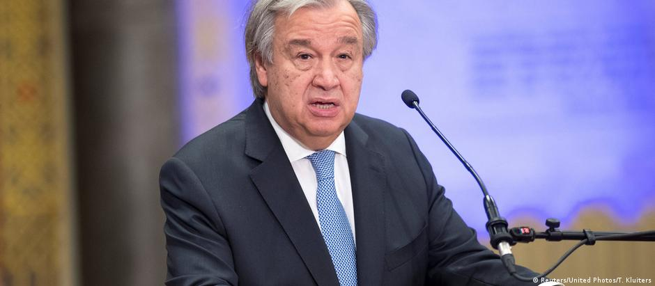 Guterres chamou a atenção das potências sobre a necessidade da implementação de um mecanismo que atribua responsabilidades pelo uso de armas químicas na Síria.