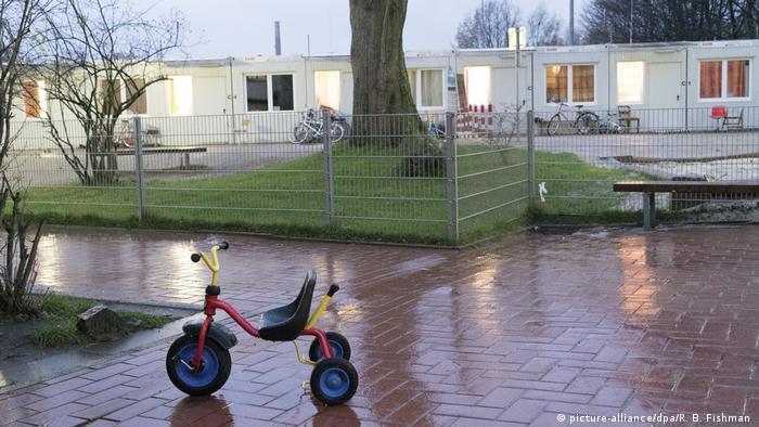 Flüchtlingsunterkunft in Bochum