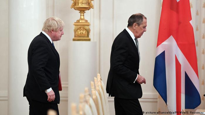 British Foreign Minister Boris Johnson told reporters in Moscow that there is abundant evidence of Russia's meddling in Western democratic processes
