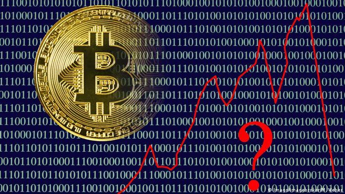 Bitcoin logo (Imago/imagebroker/M. Weber)