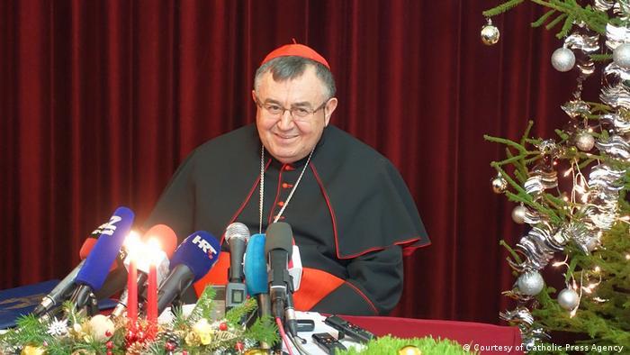 Bosnischer Kardinal Vinko Puljic