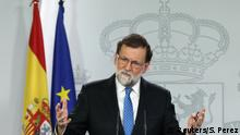 Spain's Prime Minister Mariano Rajoy attends a press conference at the Moncloa Palace in Madrid, December 22, 2017. REUTERS/Sergio Perez