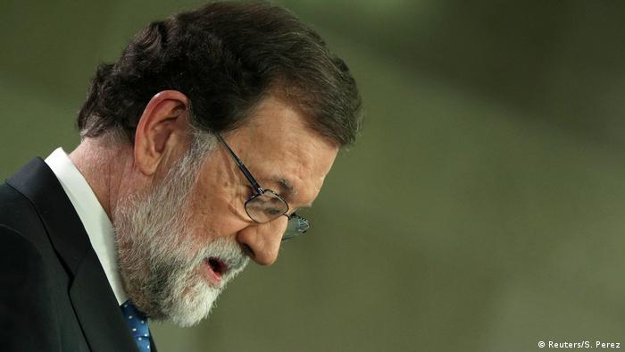 Spanien Pressekonferenz von Mariano Rajoy (Reuters/S. Perez)