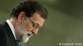 Spanien Pressekonferenz von Mariano Rajoy