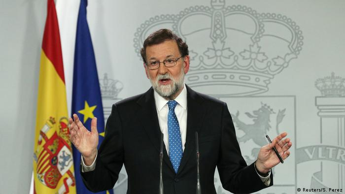 Spaniens Ministerpräsident Mariano Rajoy (Foto: Reuters/S. Perez)