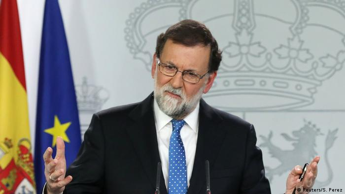 Prime Minister Mariano Rajoy of Spain promised to take his country off the EU's red list of budgetary sinners in 2018.