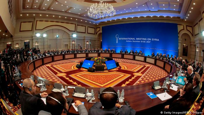 Astana holding 8th round of talks on Syrian settlement