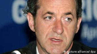 Close-up of Italian Agriculture Minister Luca Zaia at G8 talks