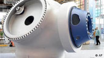Rotor eólico de la empresa Fuhrländer.
