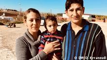 Griechenland, Jesiden-Familie aus dem Irak