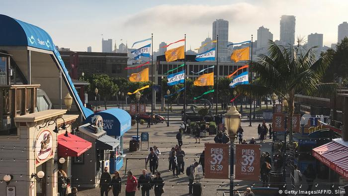 USA San Francisco Pier 39 (Getty Images/AFP/D. Slim)