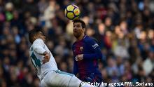 Fussball Real Madrid vs. Barcelona Lionel Messi