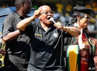 ادامه ریاست جمهوری یاکوب زوما پس از پیروزی کنگره ملی آفریقا قطعی ست
