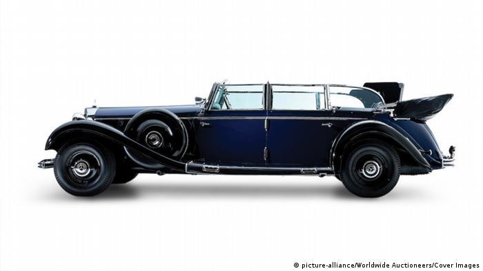 Veículo de 1939 a ser posto em leilão é uma das cinco Mercedes-Benz 770K Grosser Offener Tourenwagen existentes