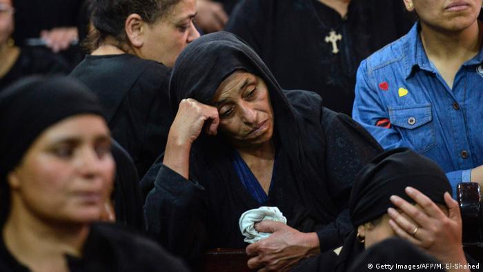 Символическая картинка: христиане Египта после теракта в мае 2017 года
