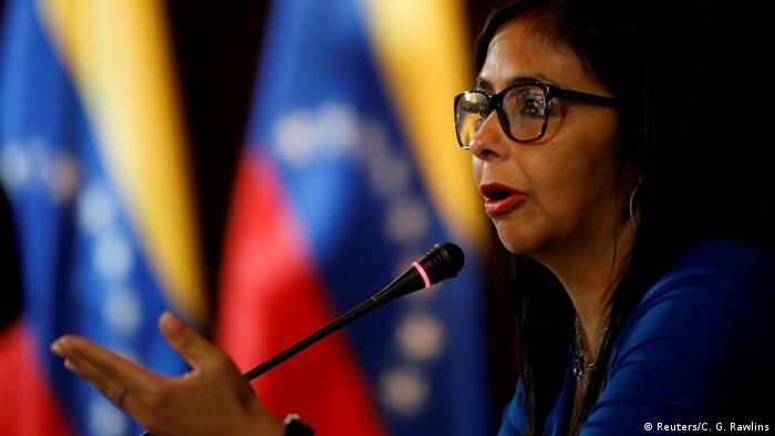Resultado de imagen para Delcy Rodríguez