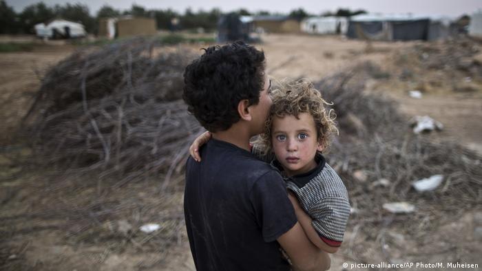 Jordanien Flüchtlinge aus Syrien in Mafraq