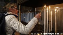 Westjordanland Betlehem Geburtskirche Weihnachtsfeier