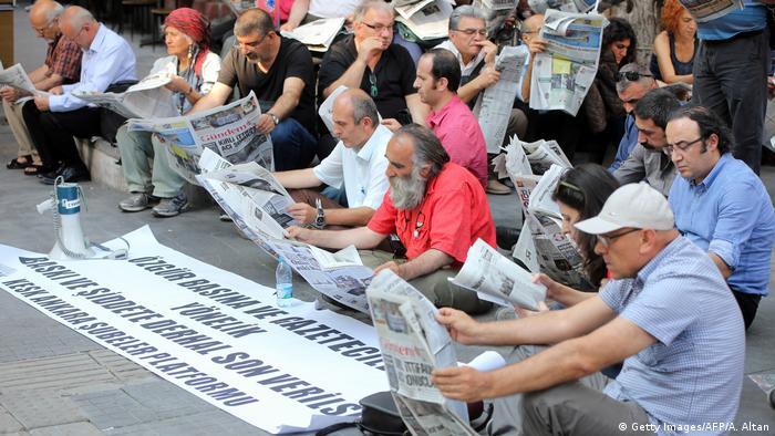 Arşiv: 2016'da Ankara'da düzenlenen bir protesto