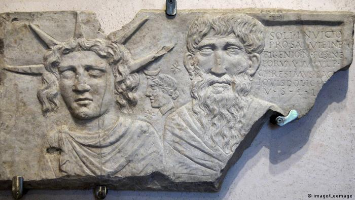 Sol invictus relief from the National Museum in Rome (imago/Leemage)
